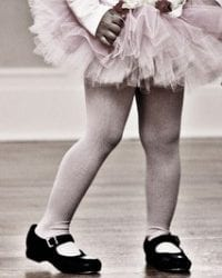 To The Little Girl In A Tutu And Tap Shoes