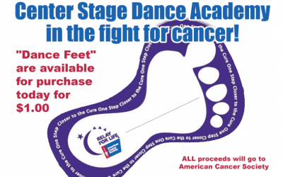 Relay for Life Dance Feet On Sale Now!