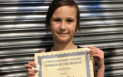 February 2019 Dancer of the Month!