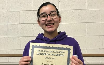 January 2019 Dancer of the Month!