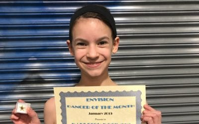 January 2019 Envision Dancer of the Month!