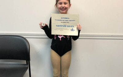 November 2019 Envision Dancer of the Month!