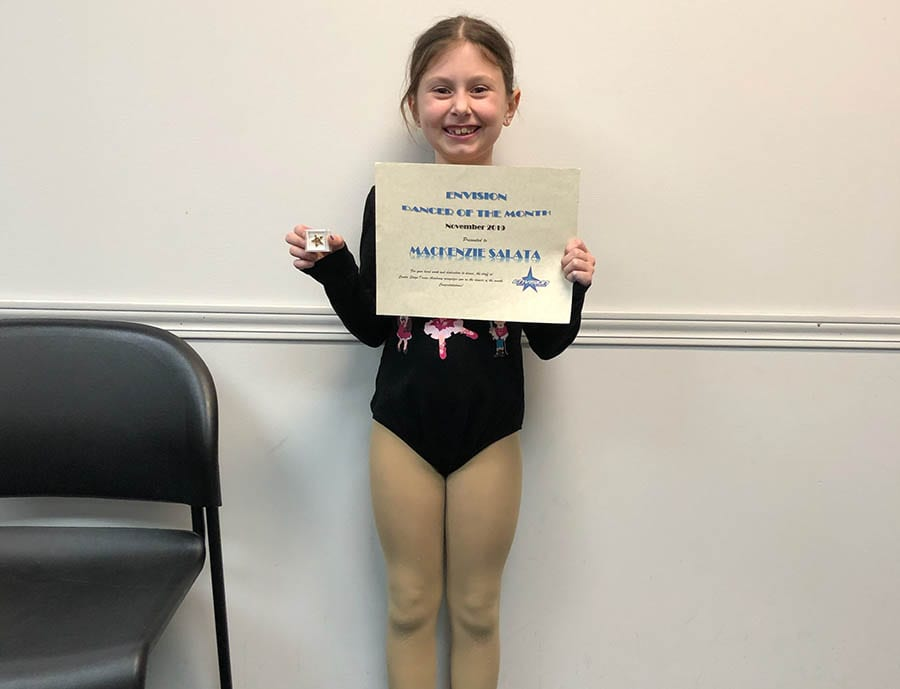November 2019 Envision Dancer of the Month!